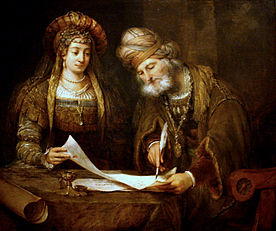 Aert_de_Gelder_-_Esther_and_Mordecai