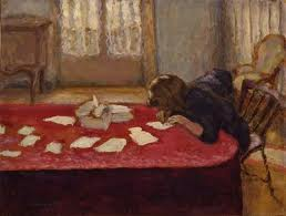 young.woman.writing